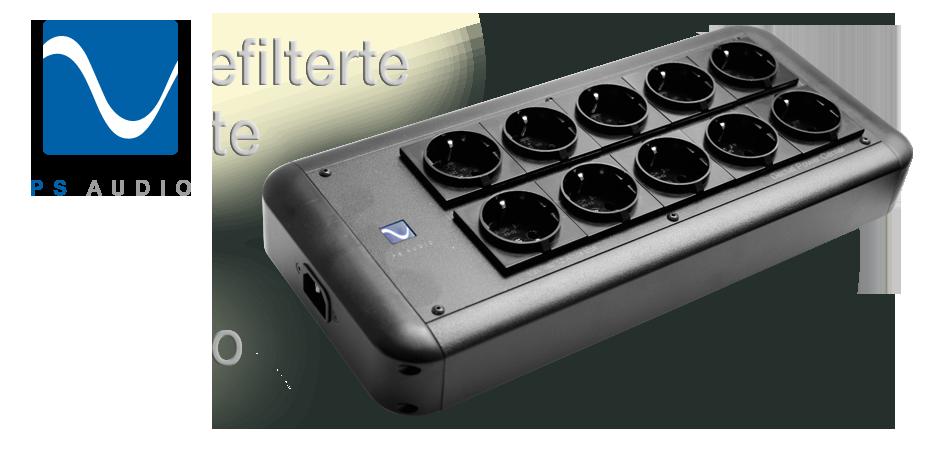 PS Audio Dectet 10-fach Netzleiste